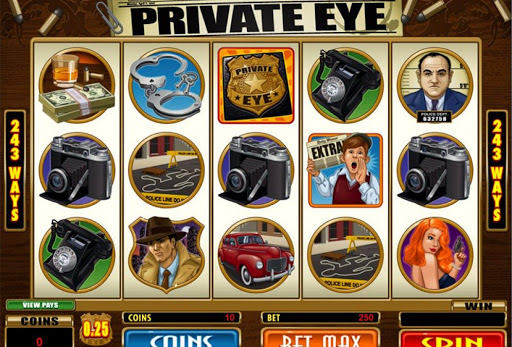 Private Eye Slot For Fun